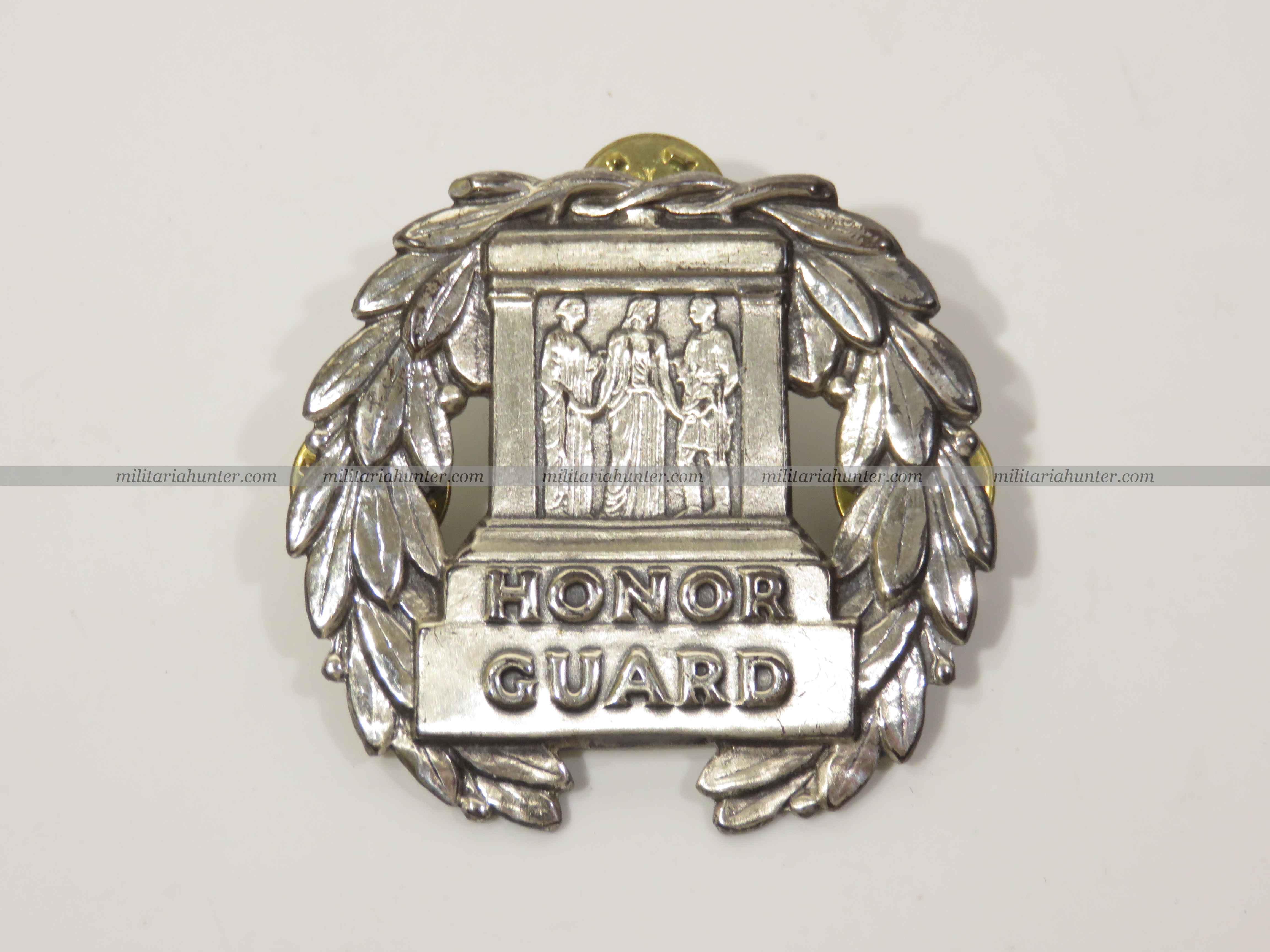 militaria : US post war Honor Guard badge - Garde du soldat inconnu US