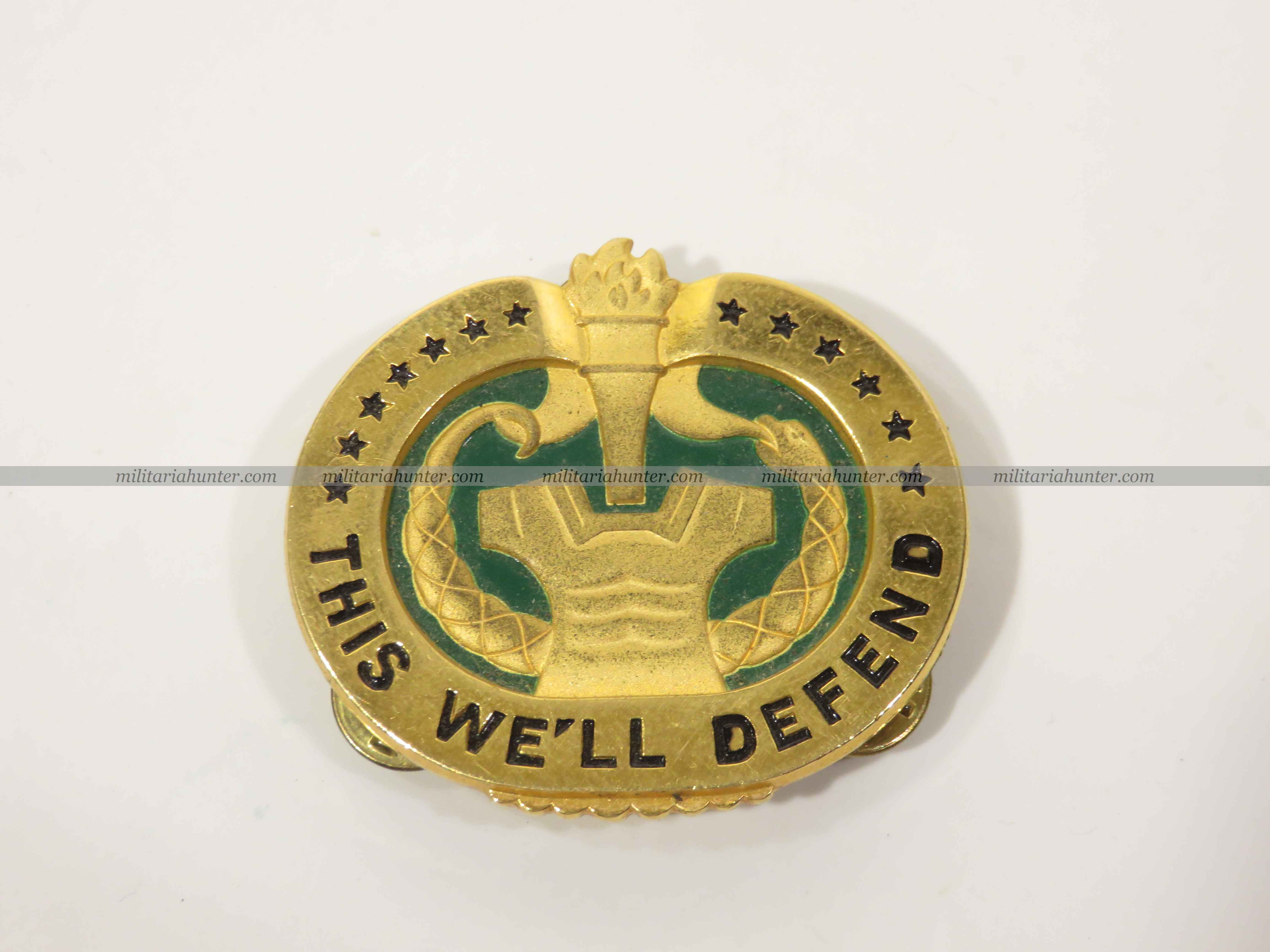 militaria : US Drill Sergeant Badge - badge de sergent instructeur