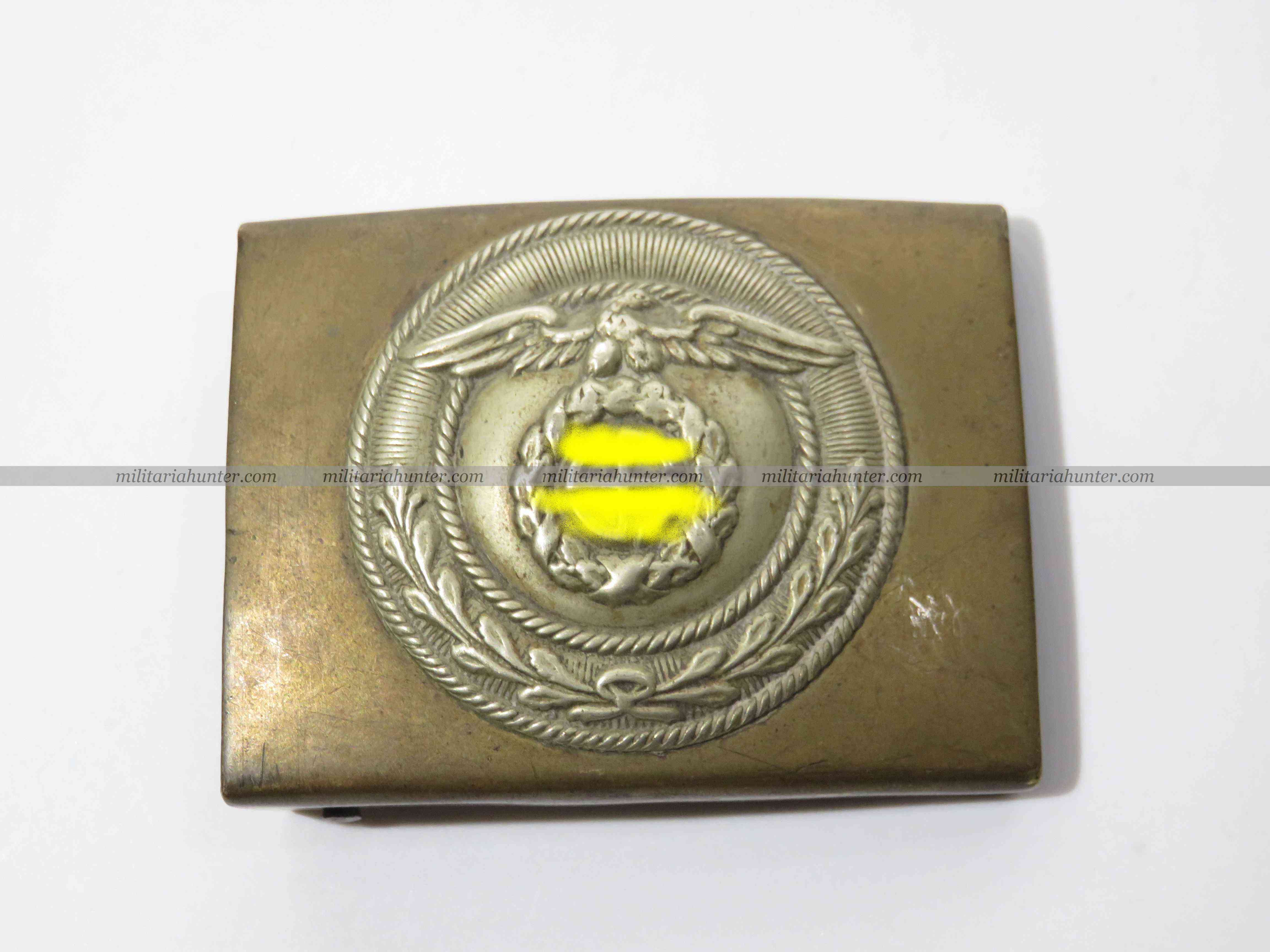 militaria : SA Belt buckle 1st pattern - boucle S.A. 1er type