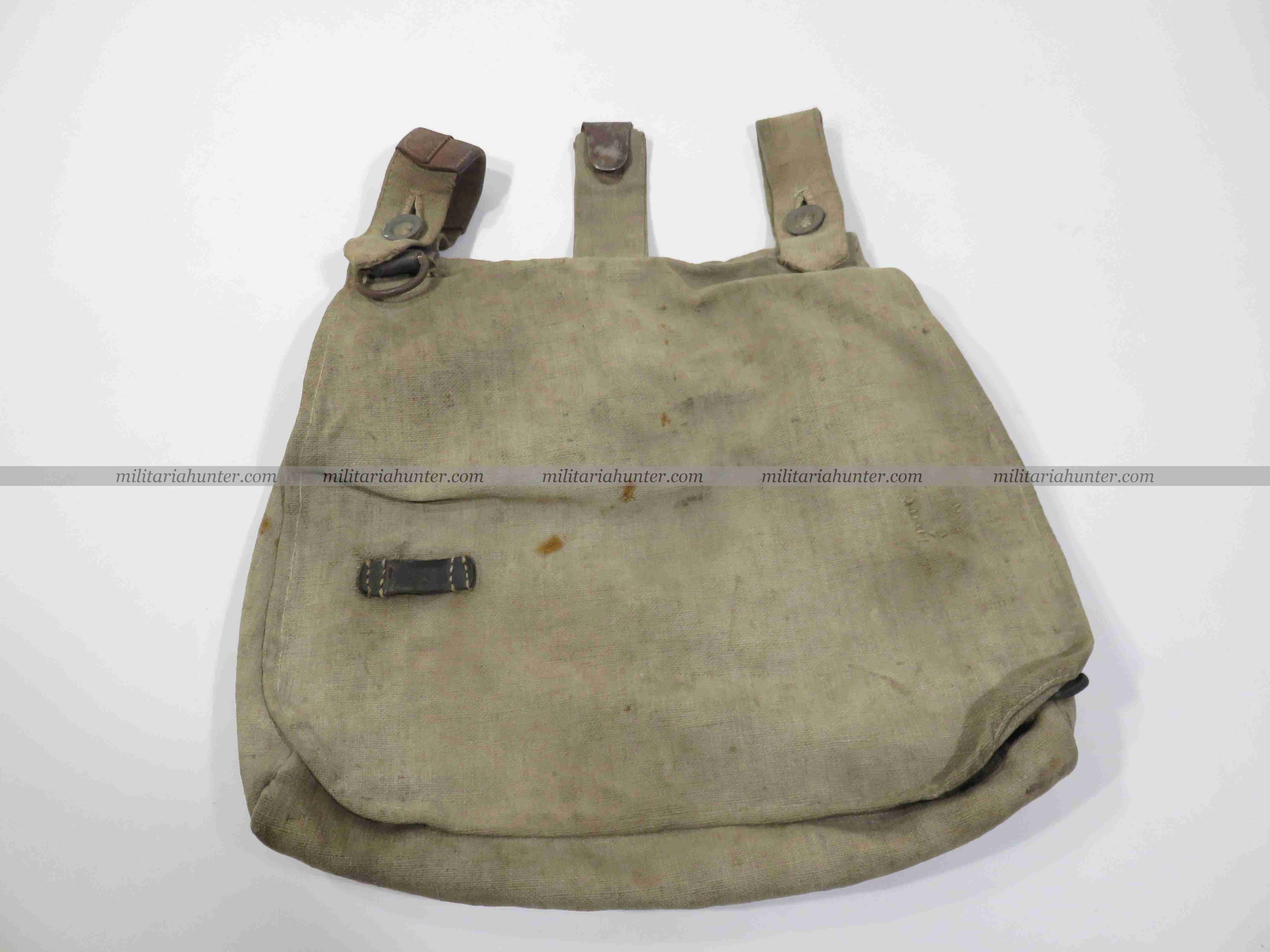militaria : ww1 german bread bag - Brotbeutel - Sac à pain allemand