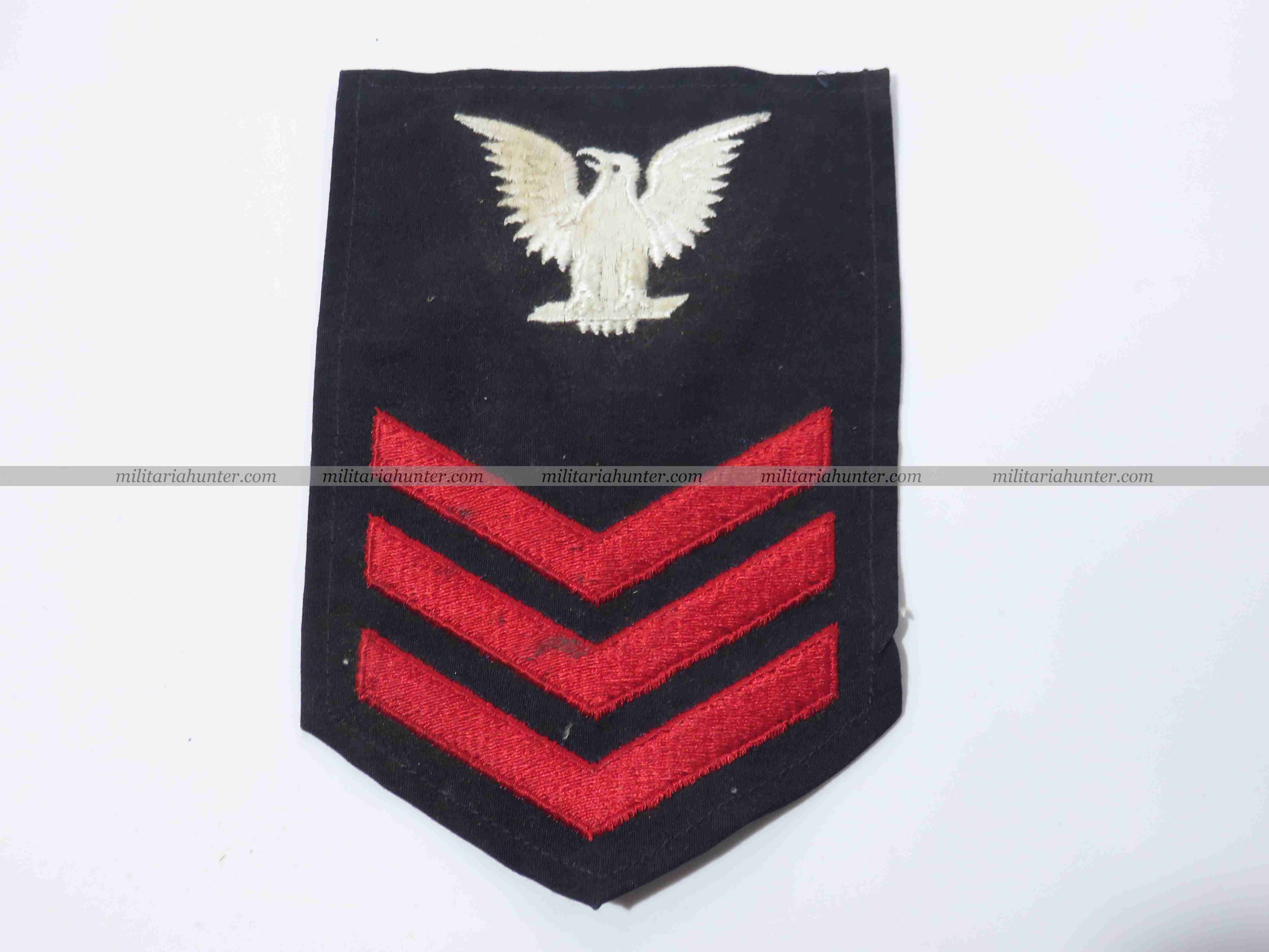militaria : ww2 + Korea US Navy enlisted badge 1st class petty officer