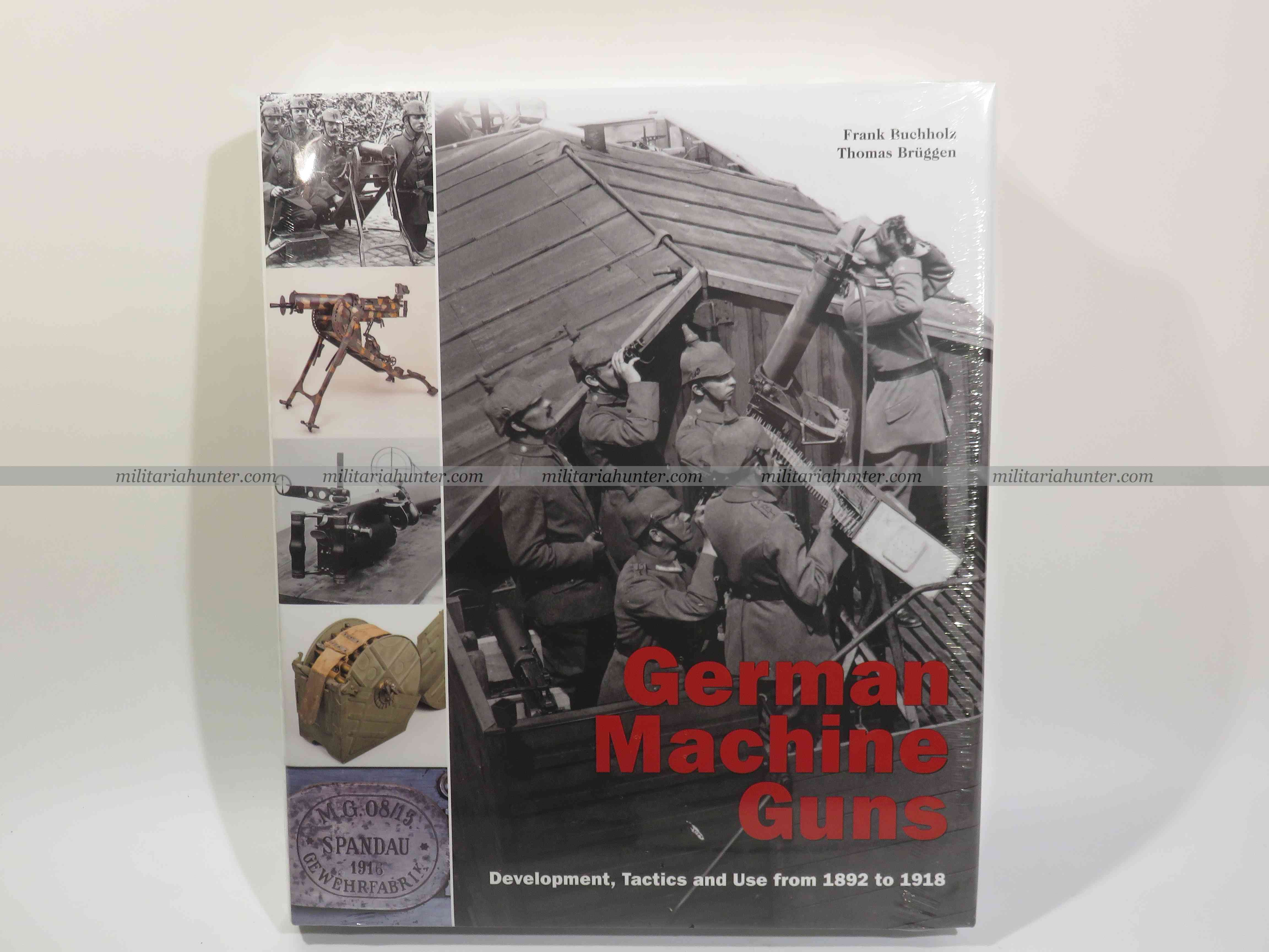militaria : The german machine guns book - english version - new