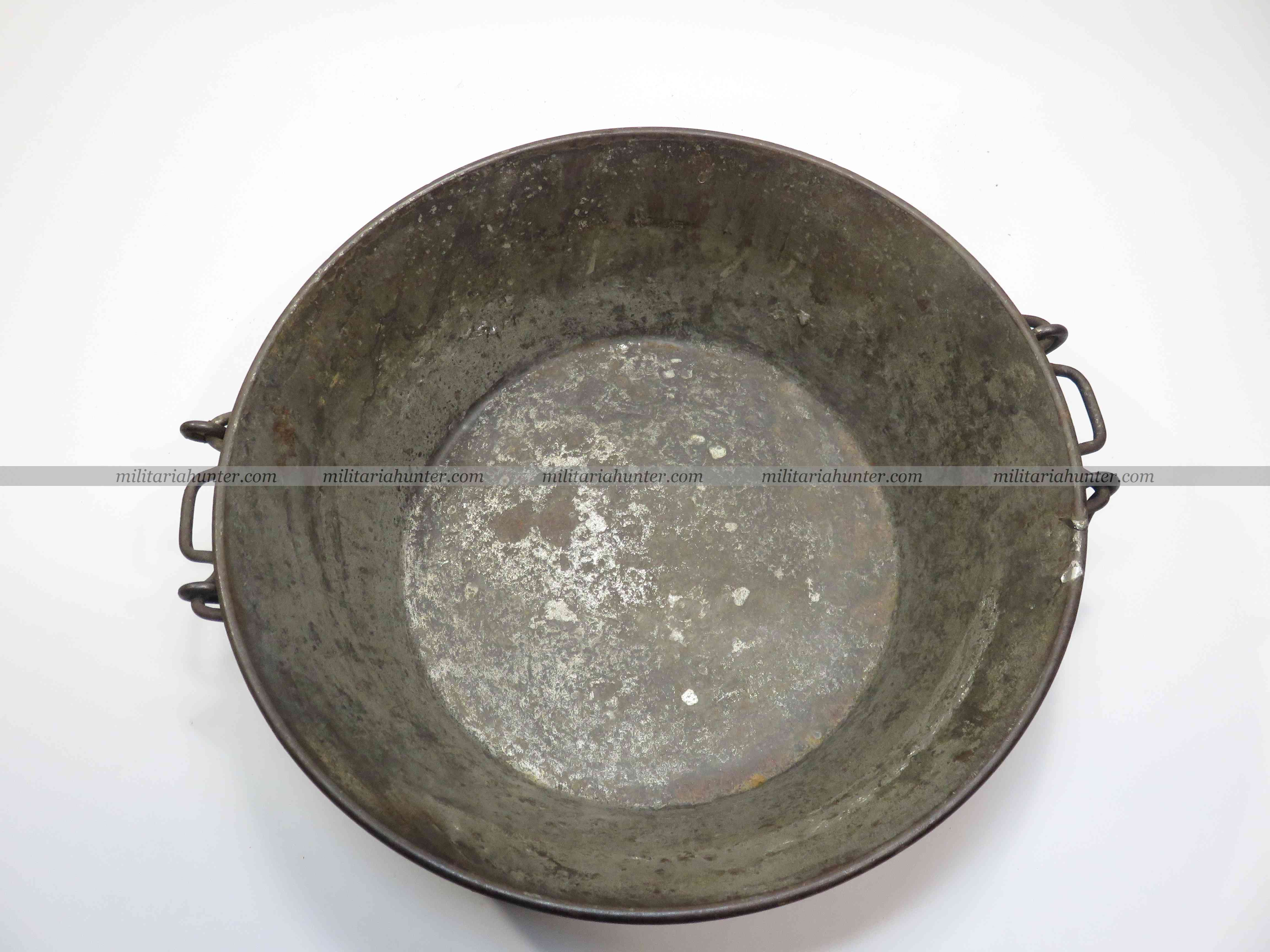 militaria : ww1 french collective dish - plat à quatre
