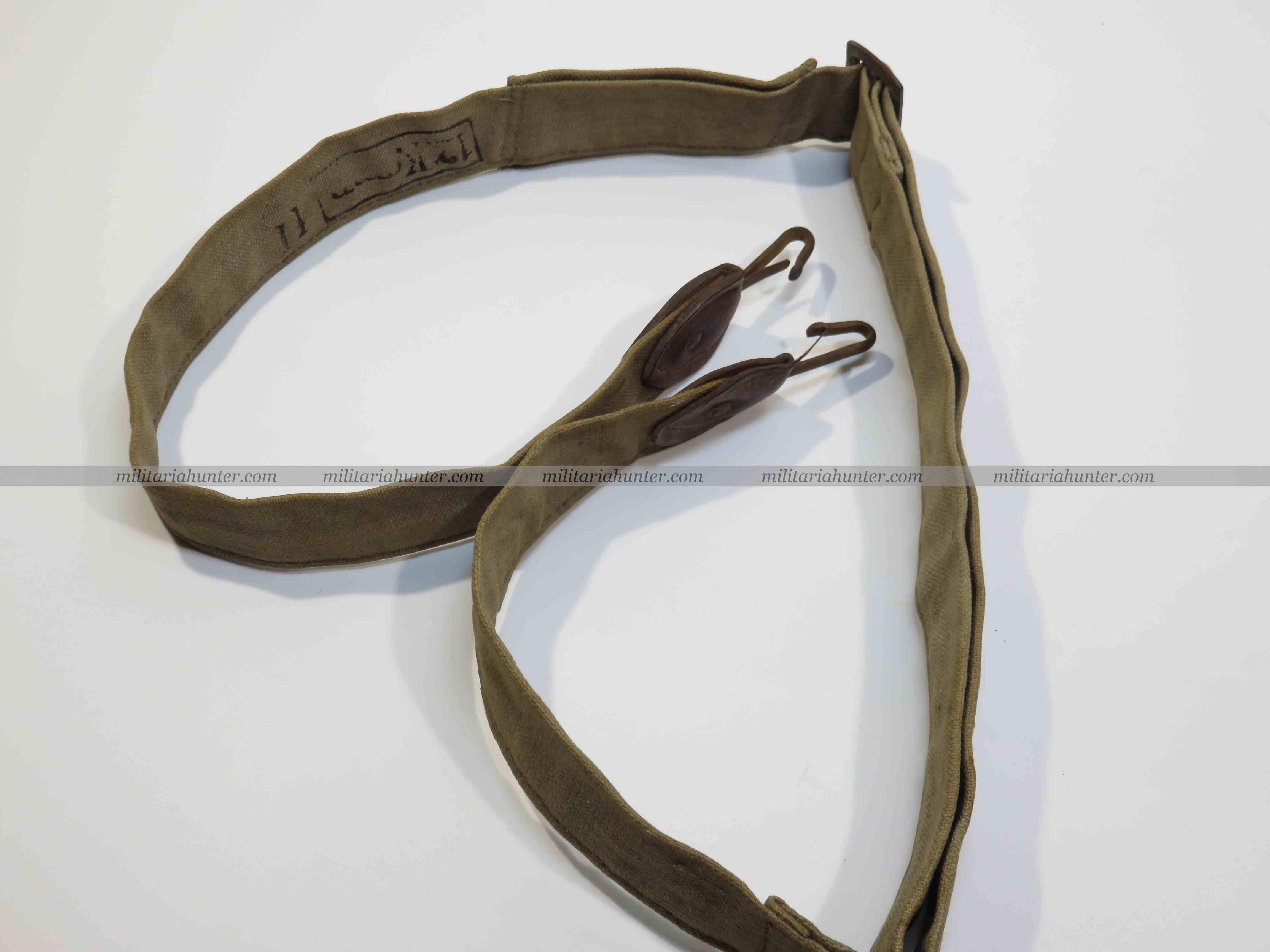 militaria : WW1 german bread bag strap - Sangle de sac à Pain - Brotbeutel Riemen