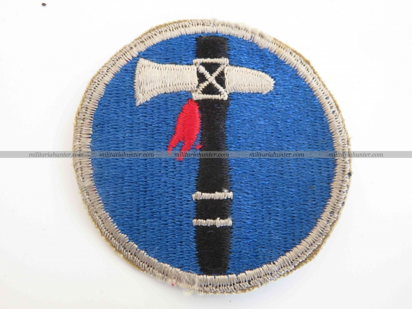 militaria : US Army WW2 XIX Corps patch