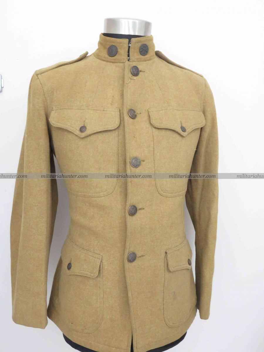 militaria : US ww1 Californian 160th Infantry Tunic