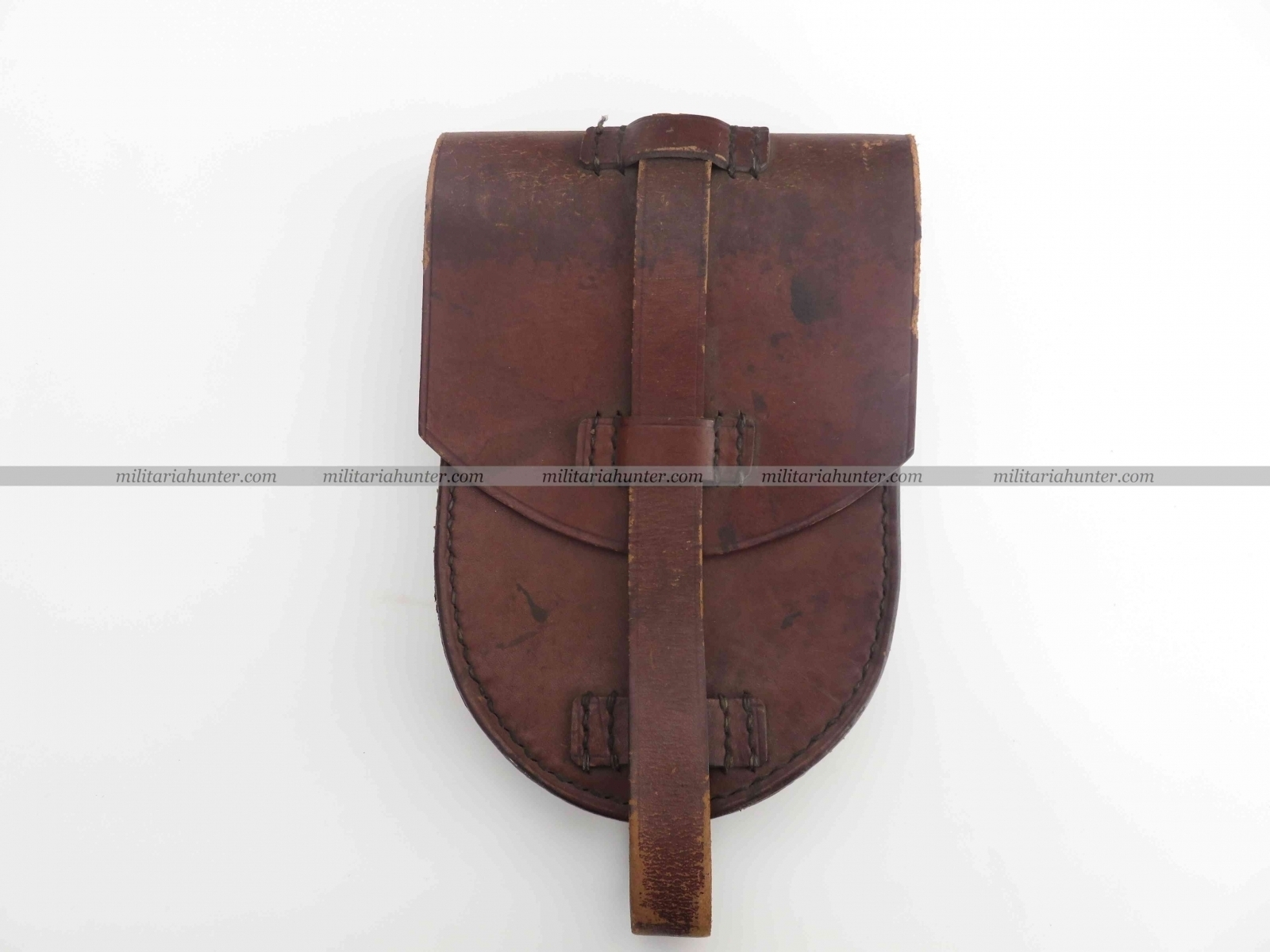 Militaria Hunter - Vente Militaria ww1 ww2 WW1 German Artillery leather pouch Krupp 1917