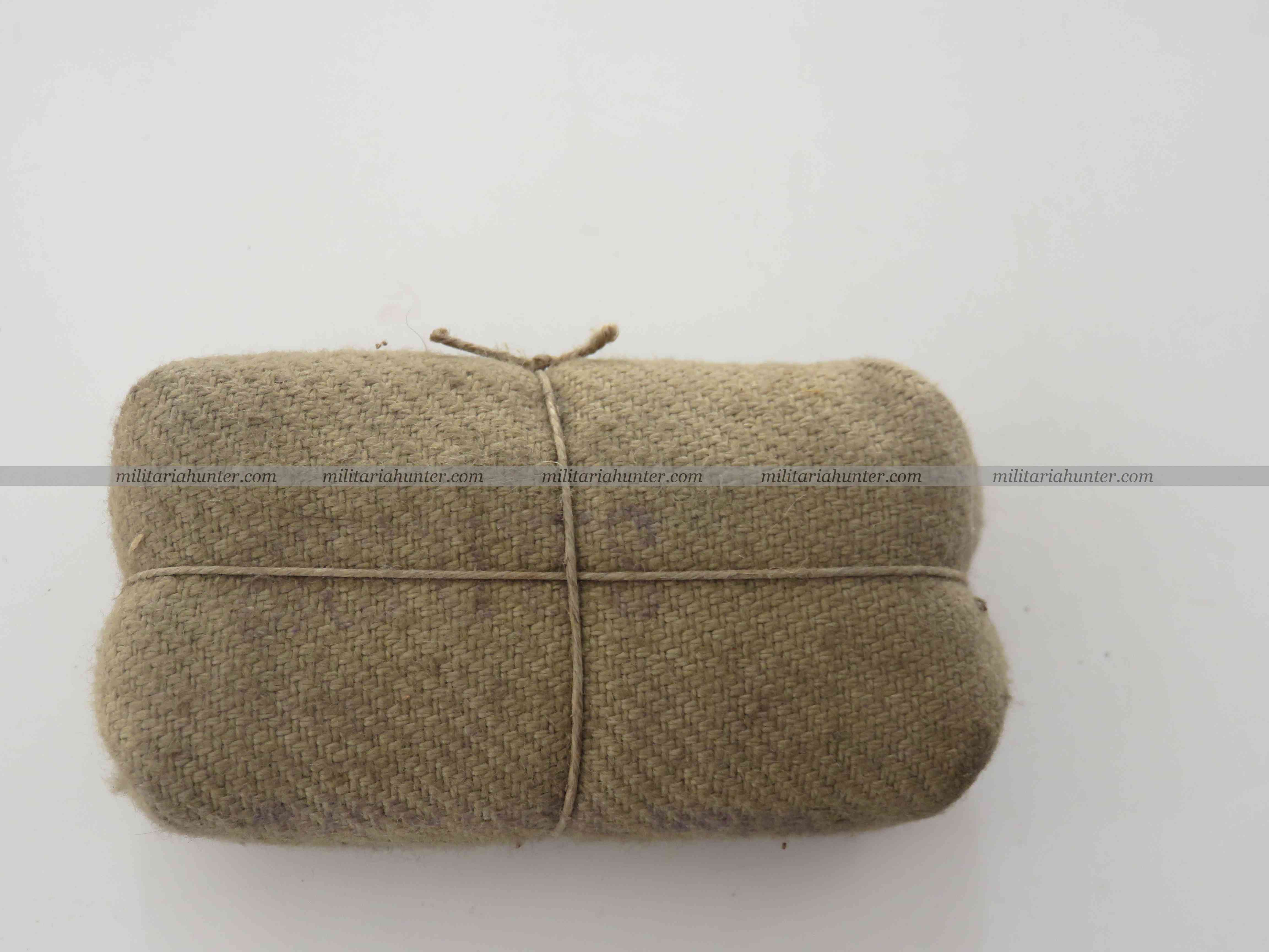 militaria : WW1 pansement allemand ersatz - german bandage, dressing