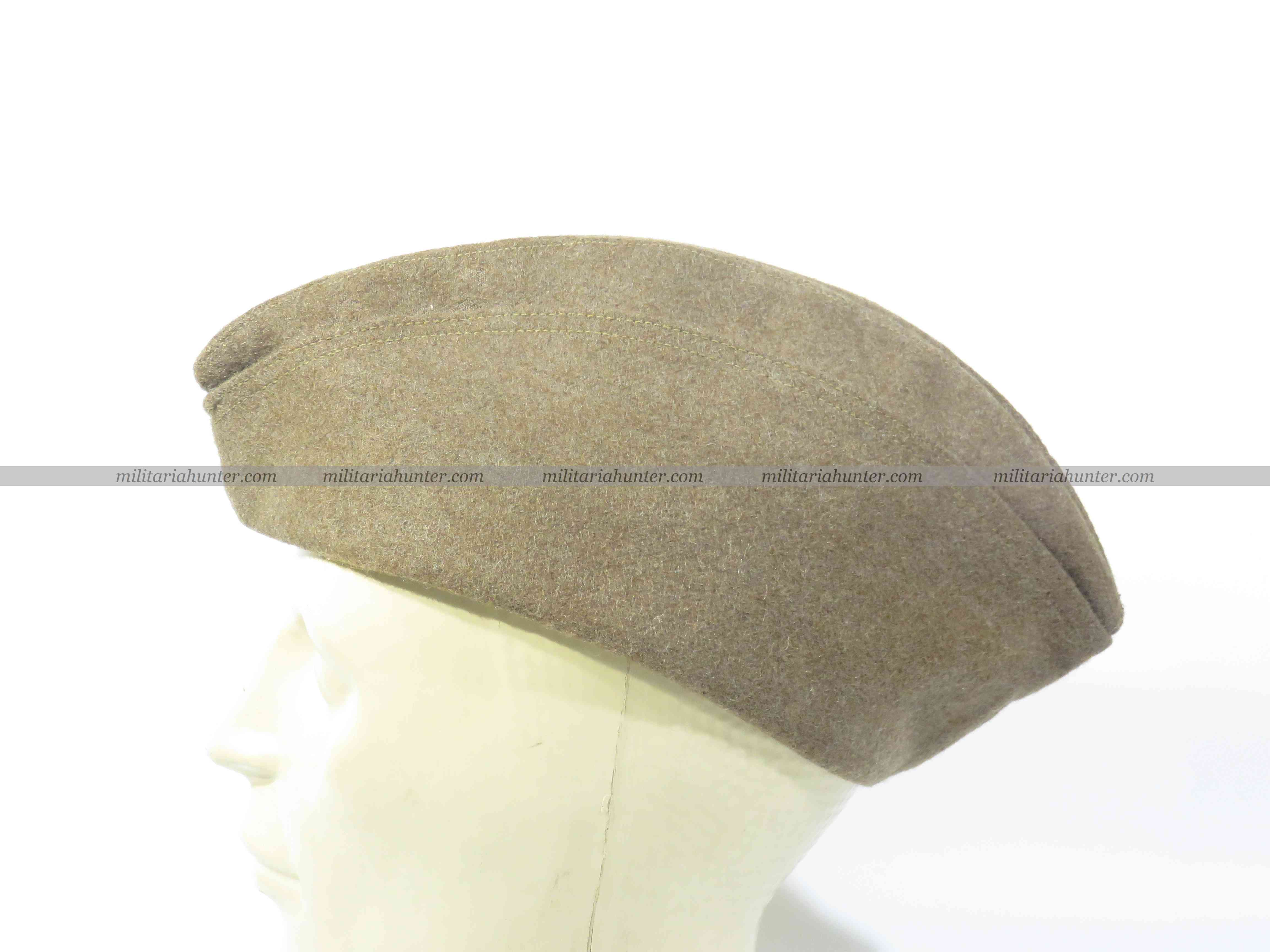 Militaria Hunter   Achat Vente Estimation Militaria ww1 ww2 Us ww1 overseas cap british made