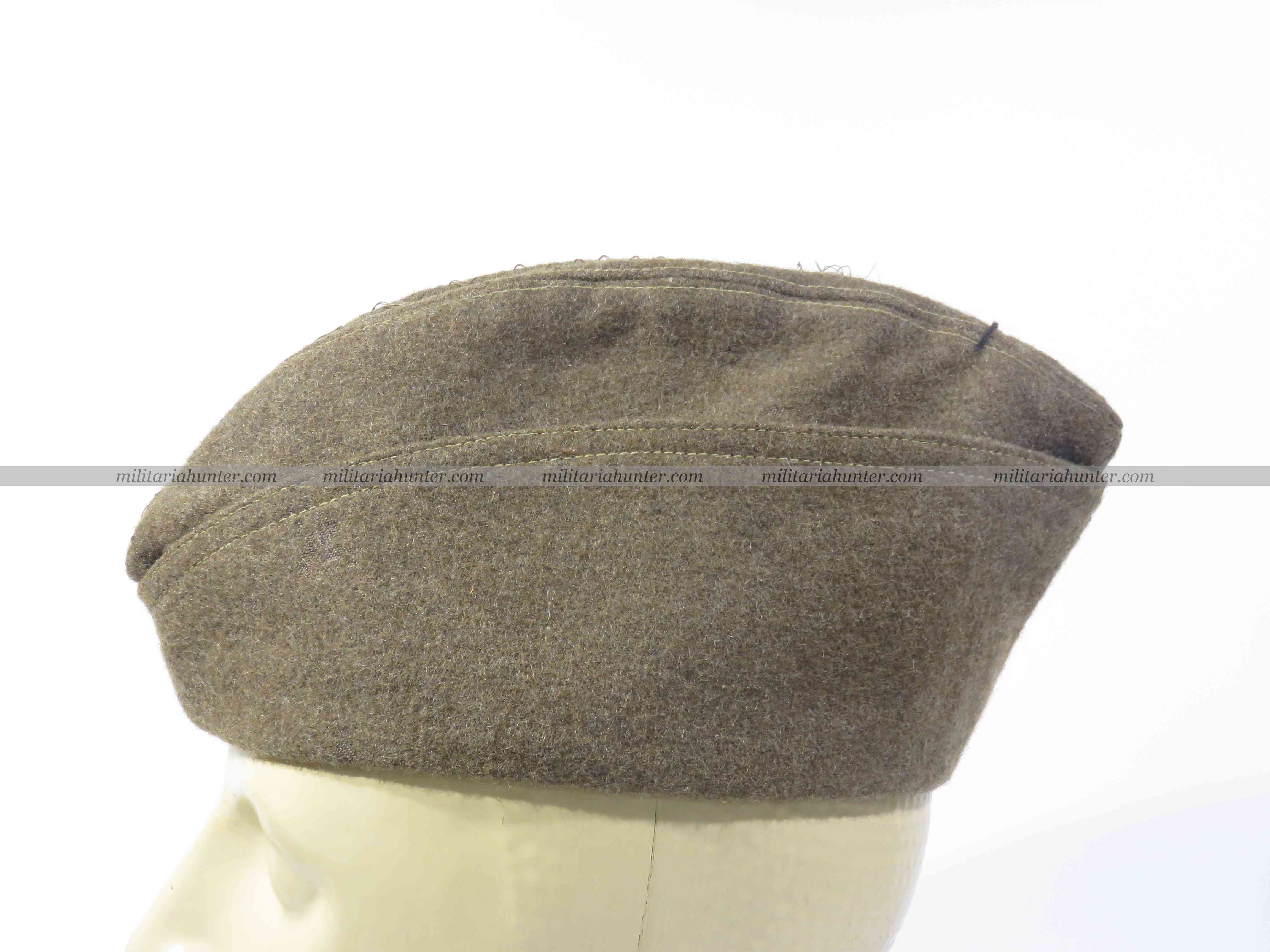 Militaria Hunter   Achat Vente Estimation Militaria ww1 ww2 Us ww1 overseas cap