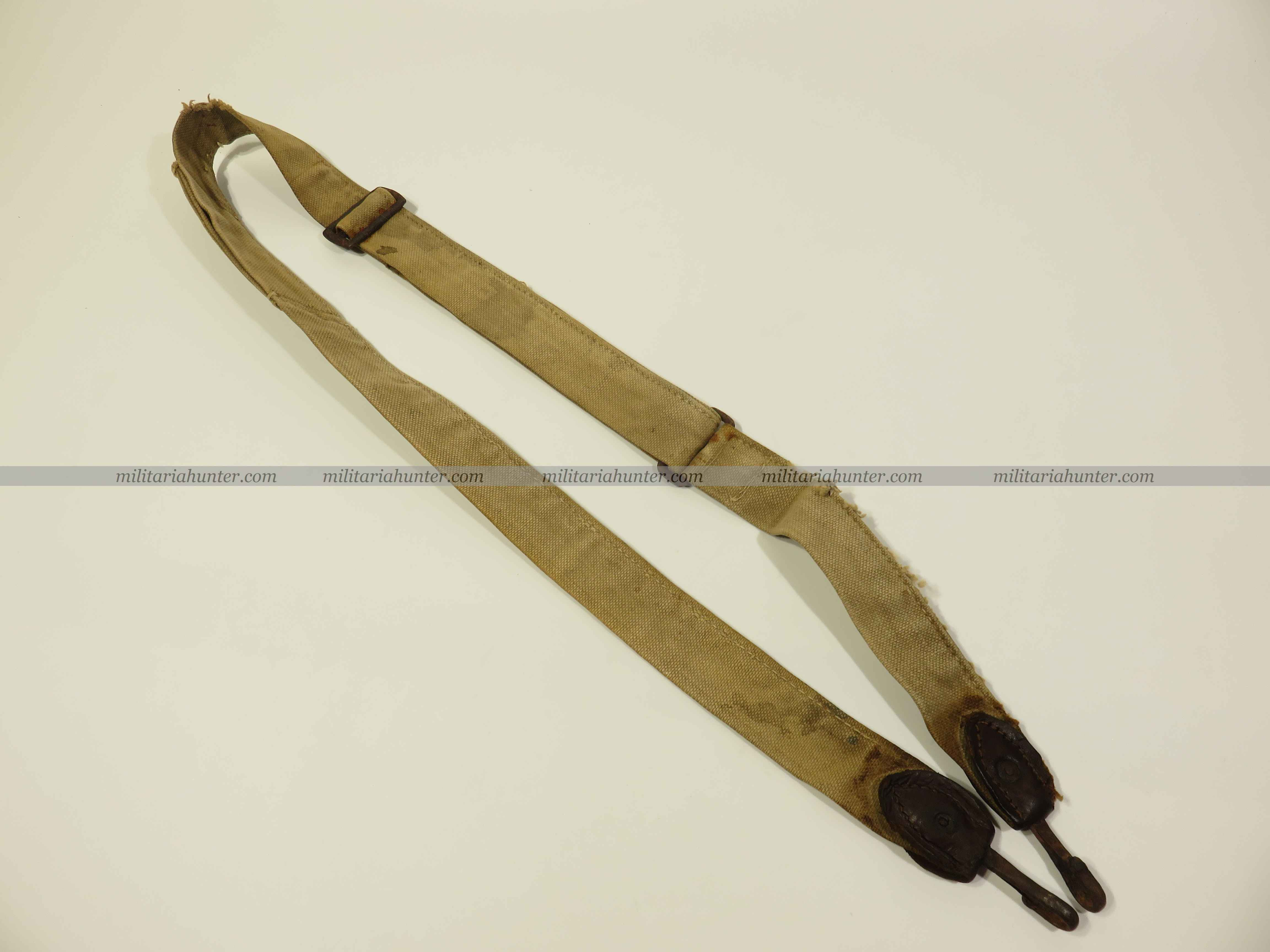 militaria : WW1 german bread bag strap - Sangle de sac à Pain - Brotbeutel Riemen ON HOLD
